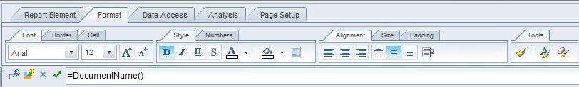 Web-Intelligence-Formatting-Java-Applet